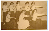 Cheerleaders - Academic 1952 - 1953