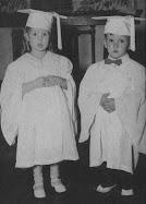 Senior Class Mascots - Academic 1953 - 1954