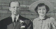 Bill Proctor and Sister of Ruth Brown at Wedding of Sid and Ruth Brown Proctor, Norfolk, Virginia