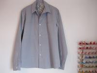 Colette Patterns Negroni Men's shirt