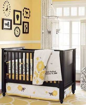 It is possible to create a beautiful cute nursery for small budget