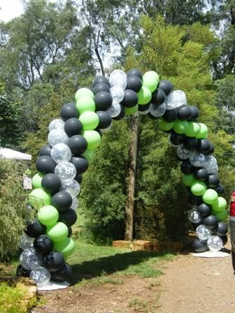 Enchanted Events And Balloons Backyard 18th Birthday