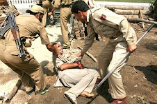 Indian Police daylight treatment for asking Freedom from India