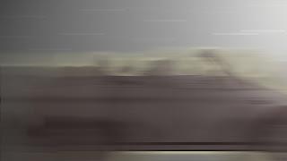 car in a speed blur in animatioin still