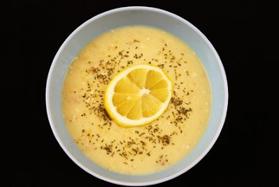 Dunkin Cooking the Semi-Homemade Way: Greek Lemon Chicken Orzo Soup