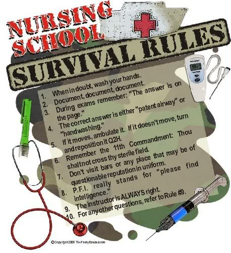 tips on how to get organised for a nursing shift