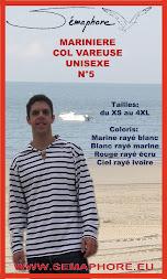 Marinière col vareuse ref:SE09005ad