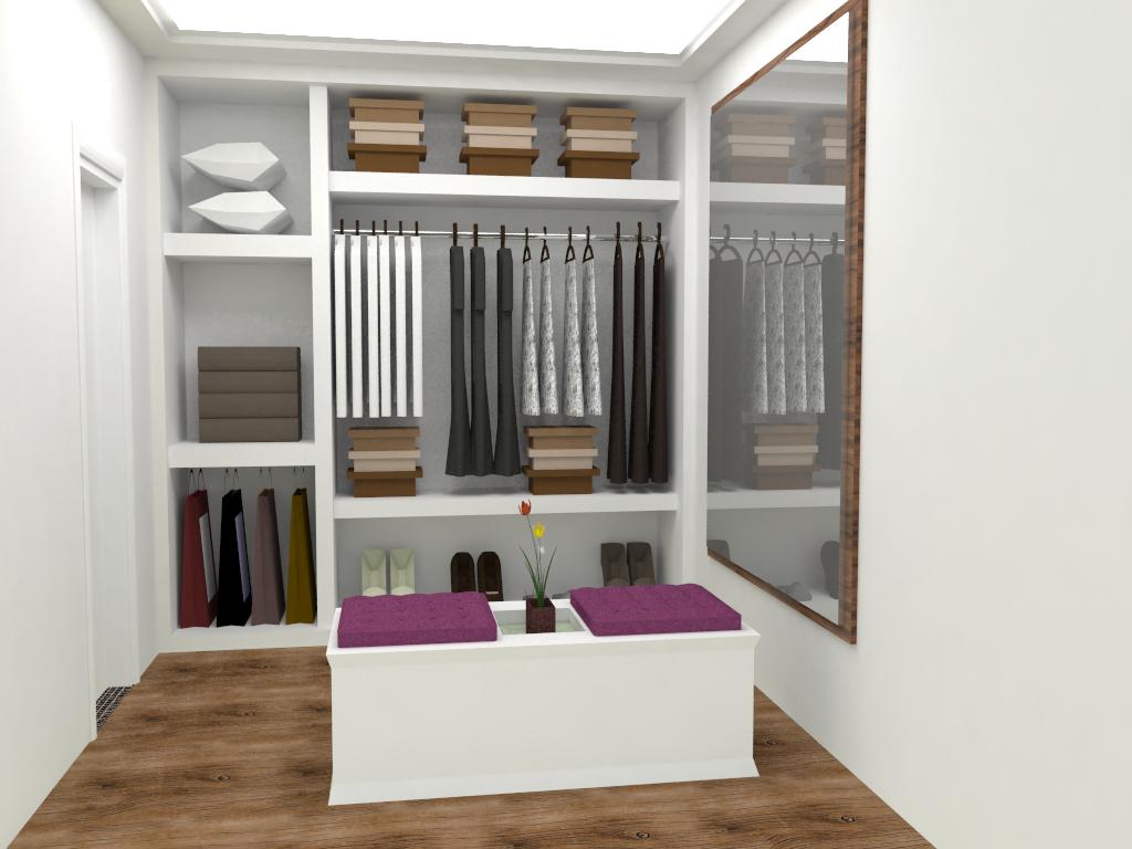 Design de Interiores: Banheiro e Closet #793D60 1024x768 Banheiro Closet