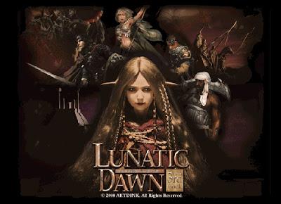 永遠不會曲終人散的冒險者之歌,俠客遊系列。ARTDINK Lunatic Dawn The 3rd Book的官網掛了,只好擅自抓了台灣EA官網的圖下來用。