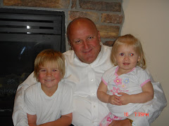 Grandpa, Ashlynn, & Braken! It's Braken's 7th b-day.  We love family time!!
