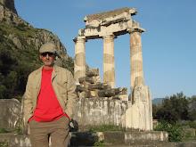 Columnas de mármol blanco