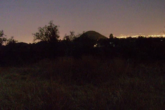 La piramide del Sol vista desde Cihualcoalt