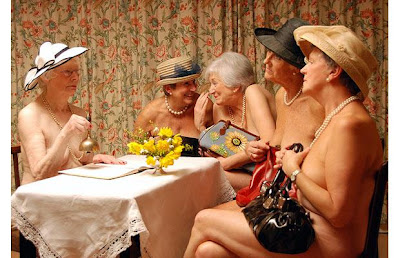 Hot Grannies Bare All For 2010 Charity Calendar