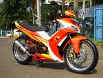 Modifikasi Jupiter Mx Keluaran 2007