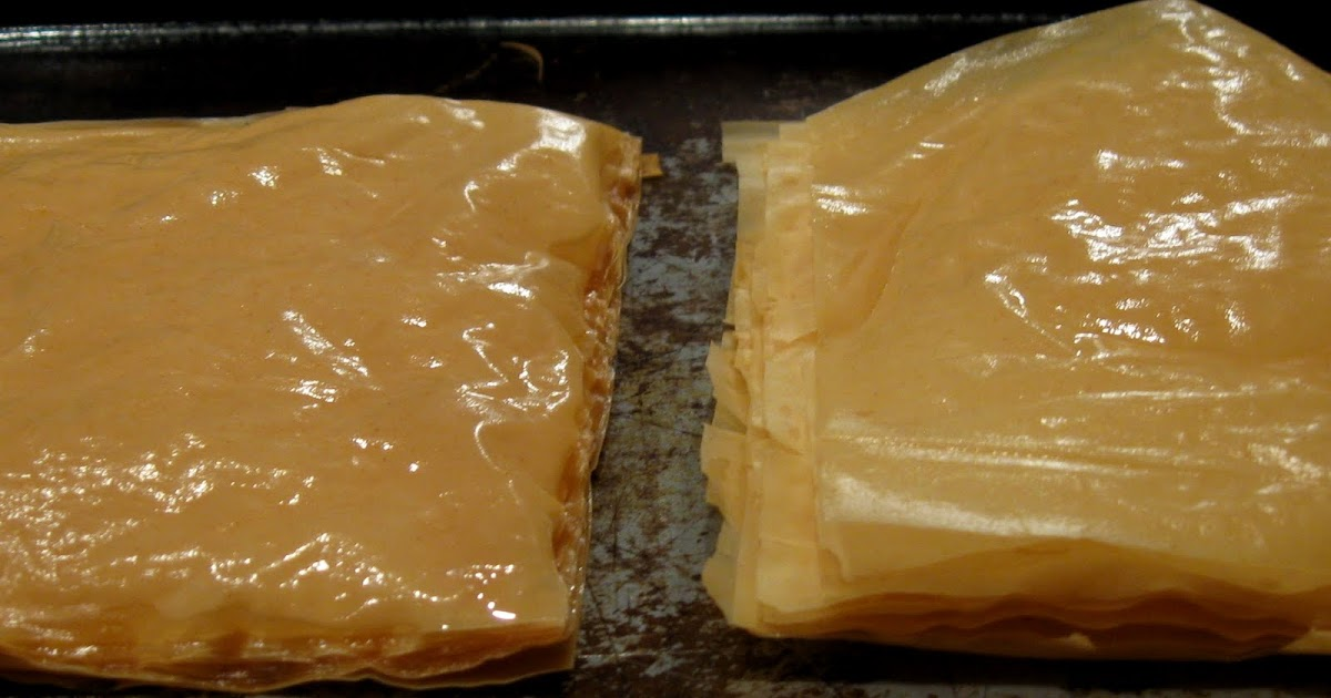 how to make phyllo dough from scratch