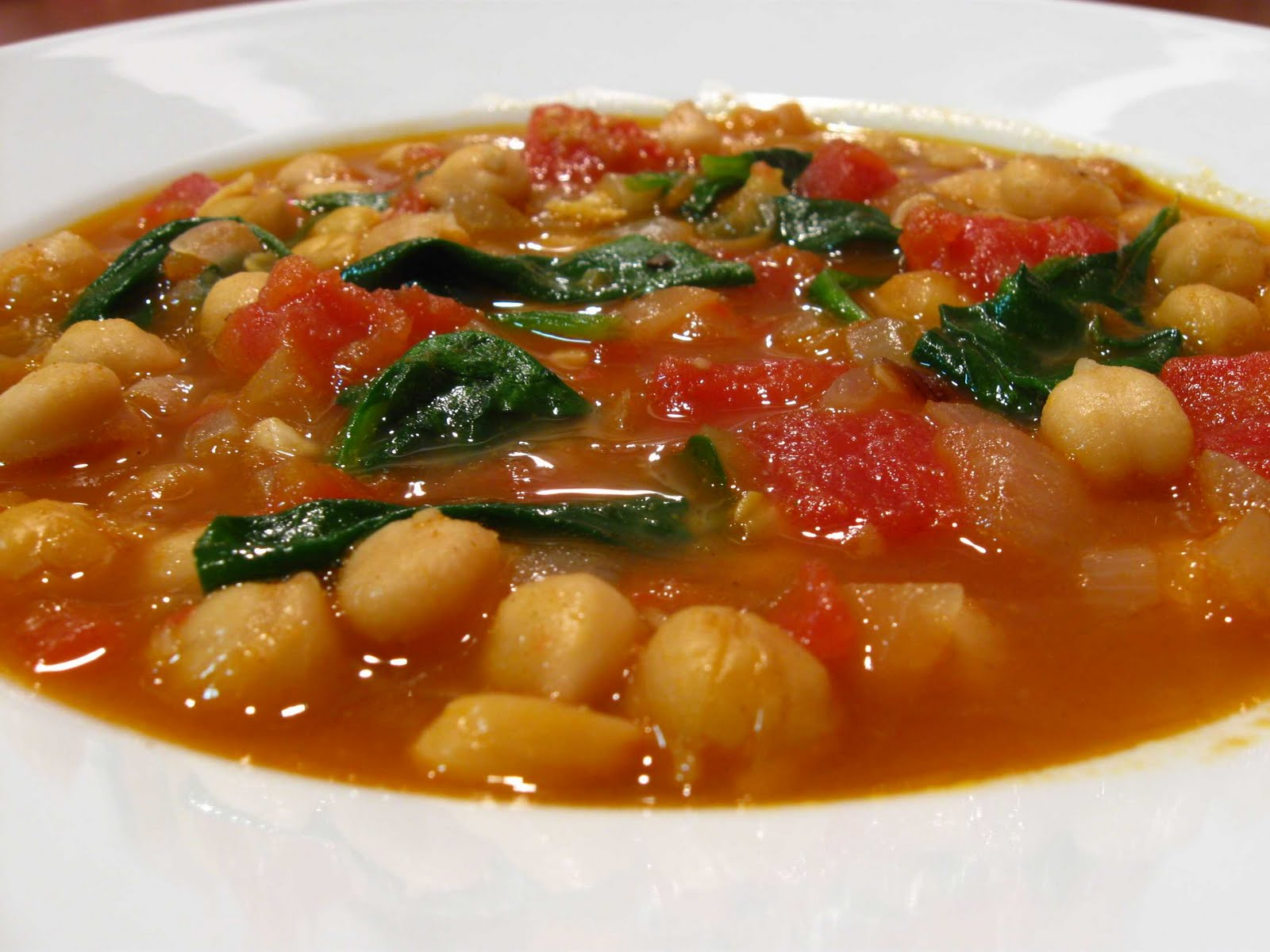 Moroccan Chickpea Soup Recipe — Dishmaps