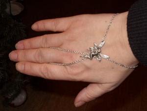 bracelet-bague l'elfe