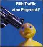 traffic atau pagerank