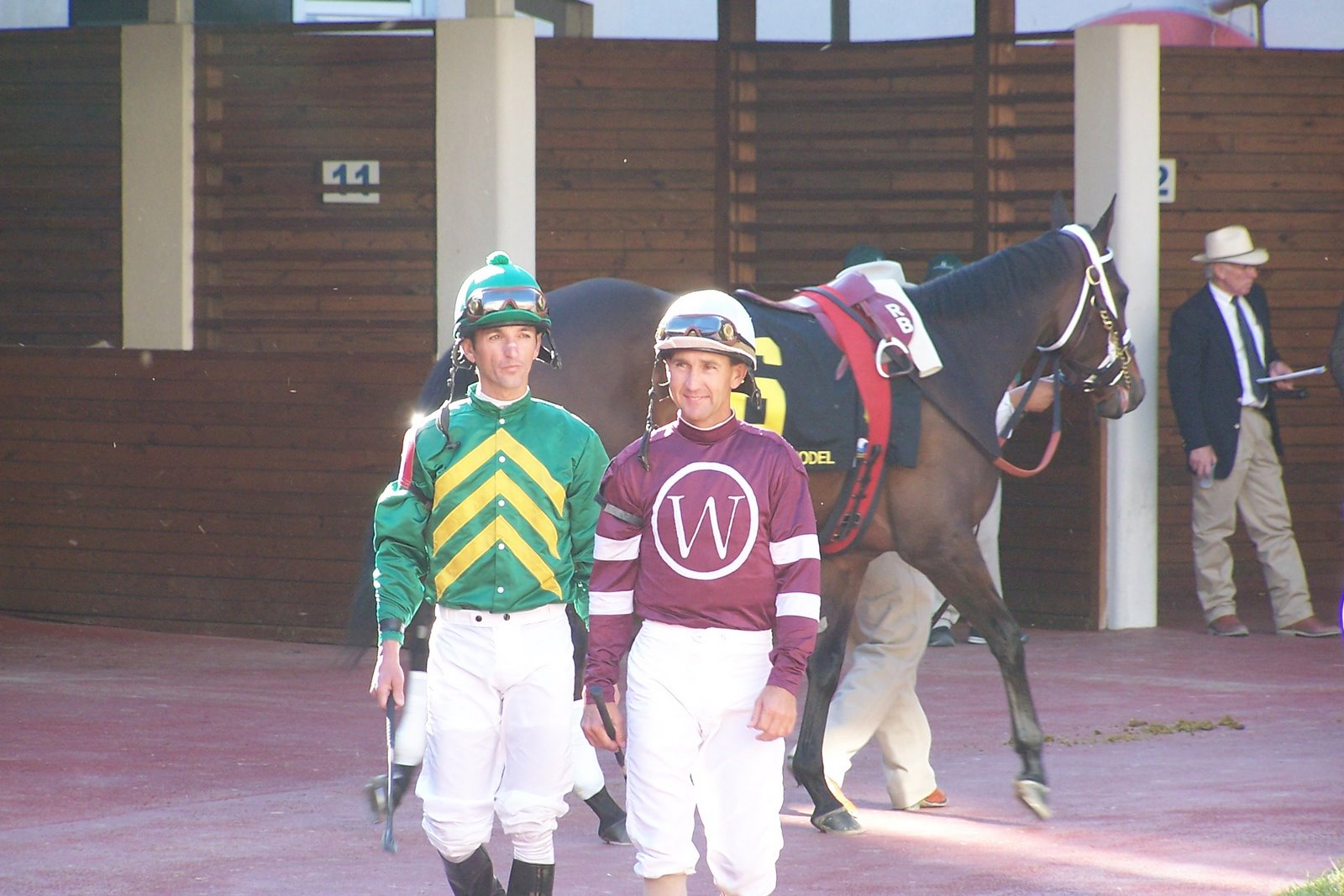 Albarado and Bailey before 2005 FG Oaks