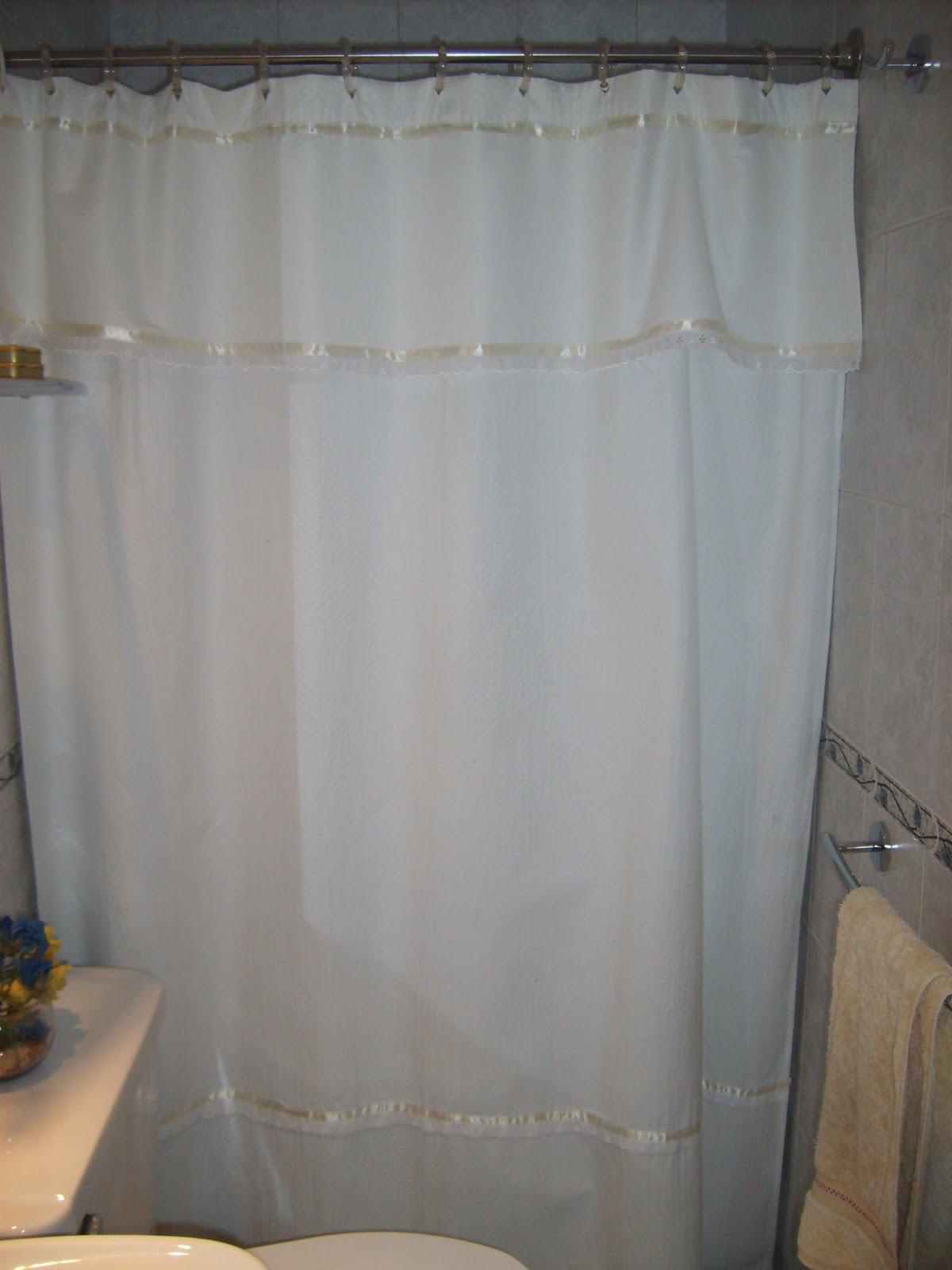 Cortinas De Baño Lindas:el taller de Cleo: Cortinas de baño