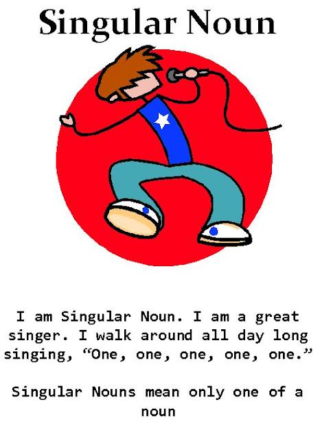 Let's Have Fun with English: Singular Noun