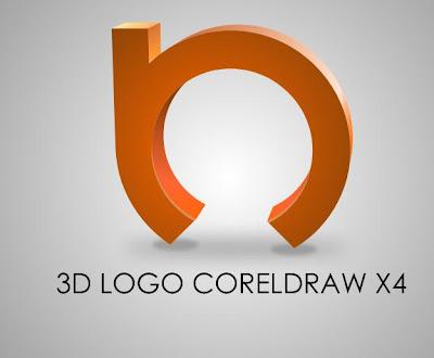 corel draw x 4 tutorials 3d logo coreldraw x4 tutorial. Black Bedroom Furniture Sets. Home Design Ideas