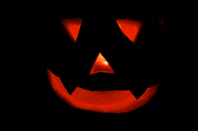 photo of a jackolantern
