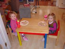 Amelia and Evie