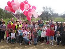 Walking for Katie and 37 balloons