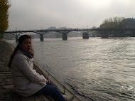 Paris River Side with Cindy