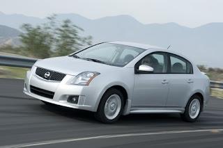 2009 Nissan+Sentra SR