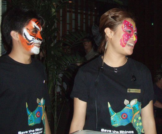 Animal Face Painting for Hotel