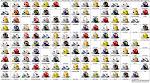 2009 PAC-10 Helmet Schedule