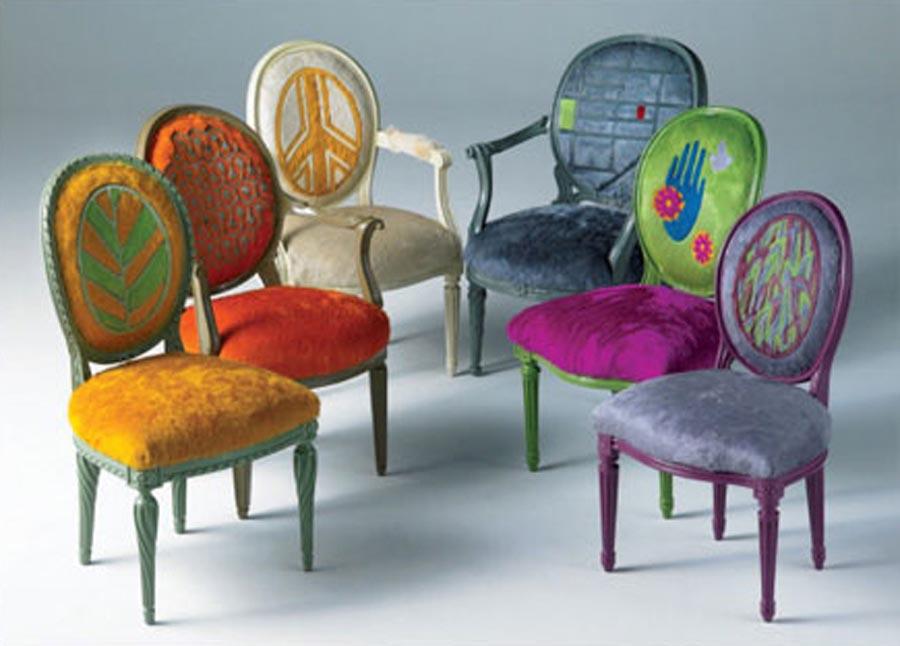 Cowhide furniture by kyle bunting luxury furniture - Tapizados de sofas ...