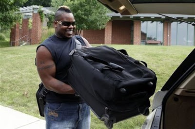 Shawn Andrews, who is carrying plenty of baggage