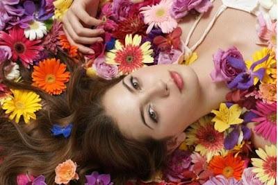 imagen mujer primavera