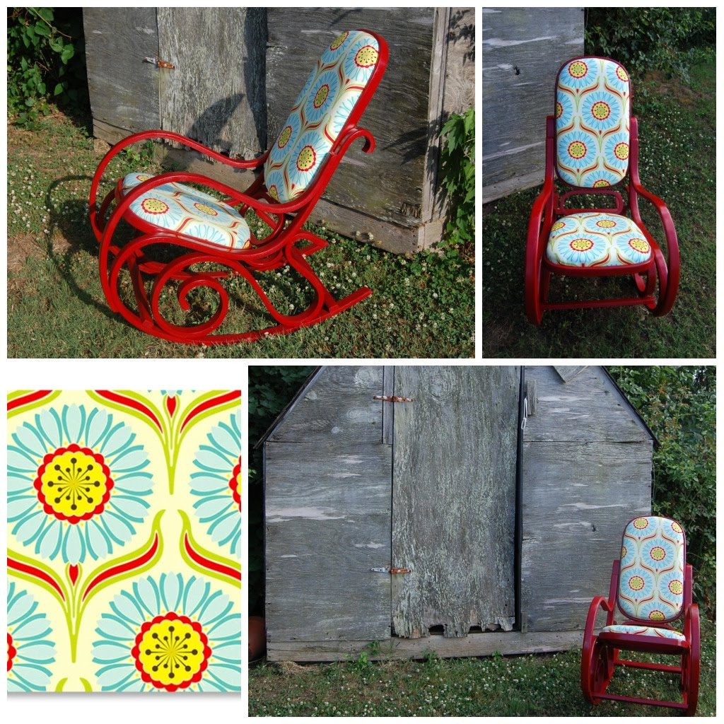 Bentwood rocking chair makeover - Save