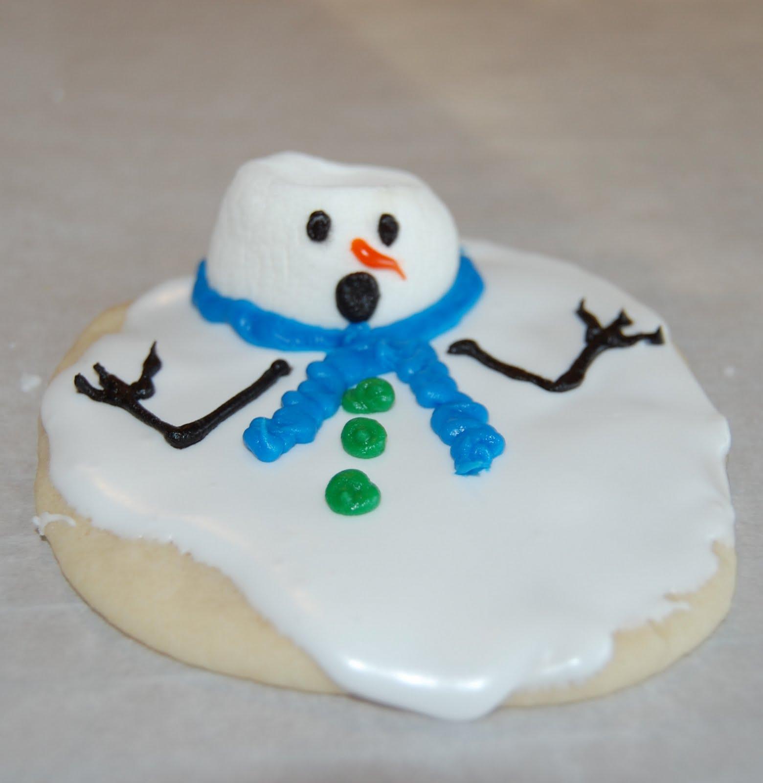 Nicole Tries DIY: Snowman Cookies & Santa Hat Brownies