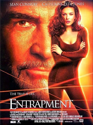 ... movie Entrapment starring Sean Connery and Katherine Zeta-Jones-Douglass ...