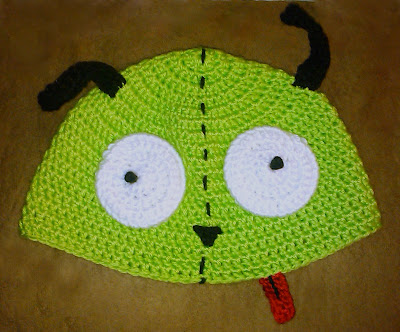Crochet Invader Zim Patterns : GIR INVADER ZIM CROCHET PATTERN CROCHET