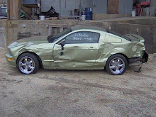 2005 Mustang Damaged