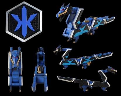 XVIII-XIX. Zords - Morphin' Legacy