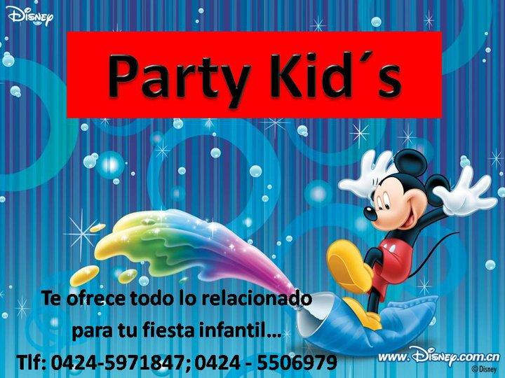 Party kids todo para tu fiesta infantil - Todo para tu fiesta infantil ...