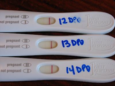 Evaporation lines vs positive pregnancy test reanimators