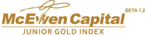McEwen Junior Gold Index
