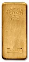 Johnson Matthey 1 Kilo Gold Bars - Image ©2005-2009 Northwest Territorial Mint