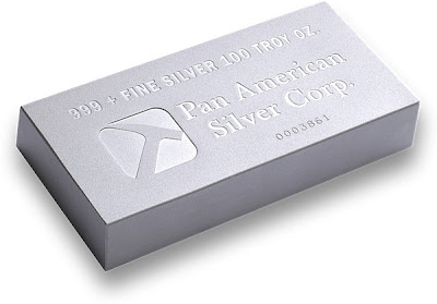 Pan American Silver Bar - 2009 Copyright Northwest Territorial Mint
