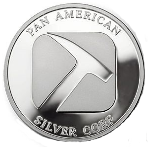 Pan American Silver Round - 1 Ounce - Copyright © 2009 Northwest Territorial Mint