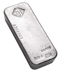 100 Ounce Silver Bars Johnson Matthey and Englehard - Copyright © 2009 Northwest Territorial Mint