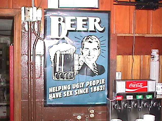 beer: helping ugly people